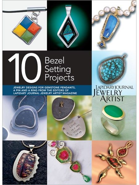 10 Mixed Media Jewelry Projects vol.4 : Best of Lapidary Journal Jewelry Artist - Google Search