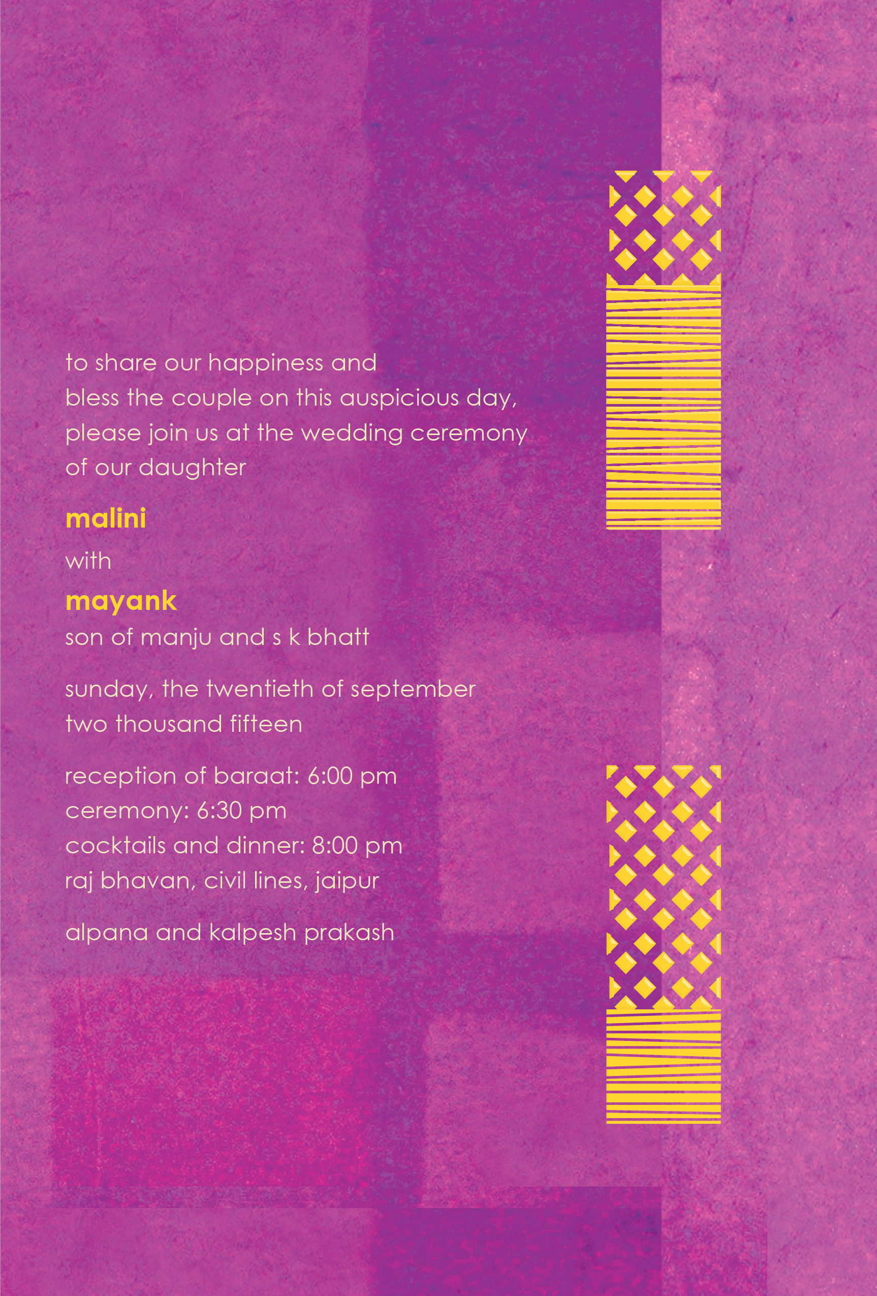 Modern Elegance in Indian Wedding Invitations and Programs ...