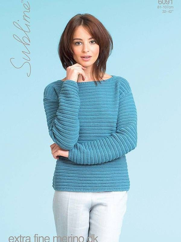 Sublime 6091 Sweaters Sweater Knitting Patterns Knit Patterns And