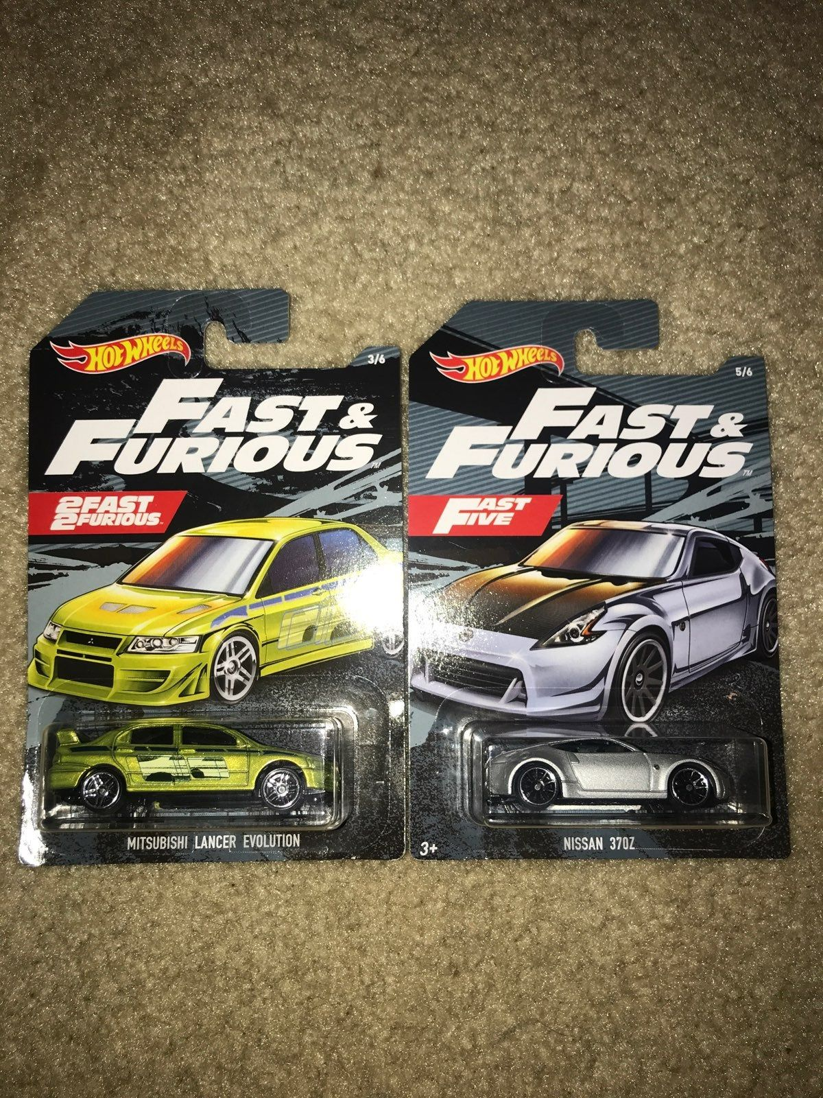 Hot Wheels Fast and Furious Mitsubishi Lancer Evolution