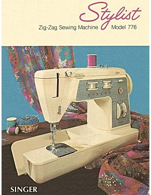 Singer 40 Stylist Sewing Machine Instruction Manual Sewing Extraordinary Singer 347 Sewing Machine Instruction Manual