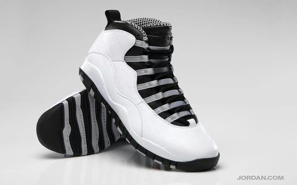 88a2b9b16c9 Retro 10 steel gray | Jordans | Shoes, Sneakers nike, Sneakers