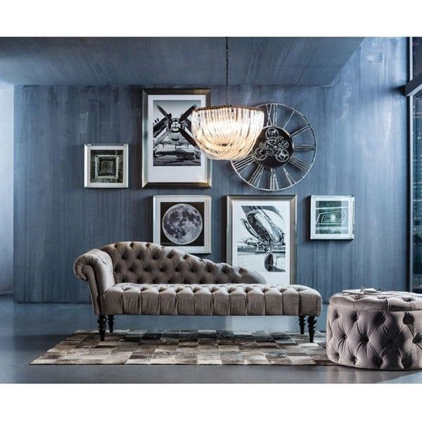 taburete Desire Round gris plata | Tiendas On | Muebles de diseño ...