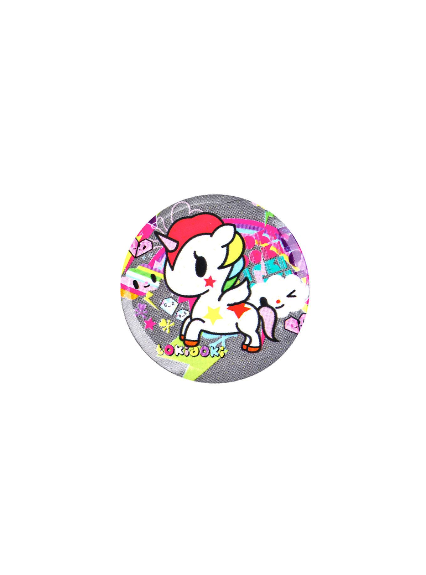 Unicorns 3 Pin Badges Kids Gifts Collectables