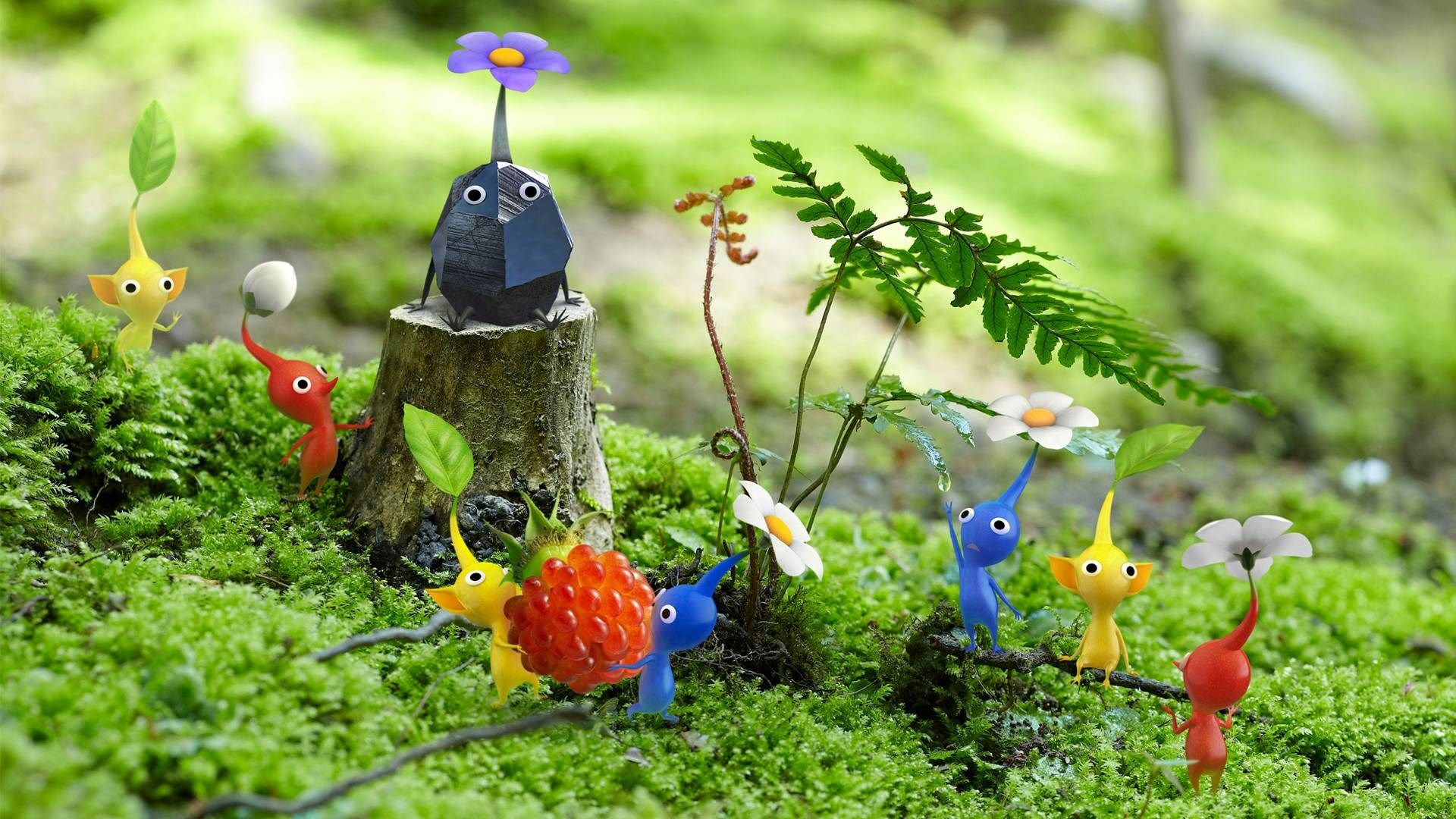 Pikmin free hd widescreen x likeagod pinterest