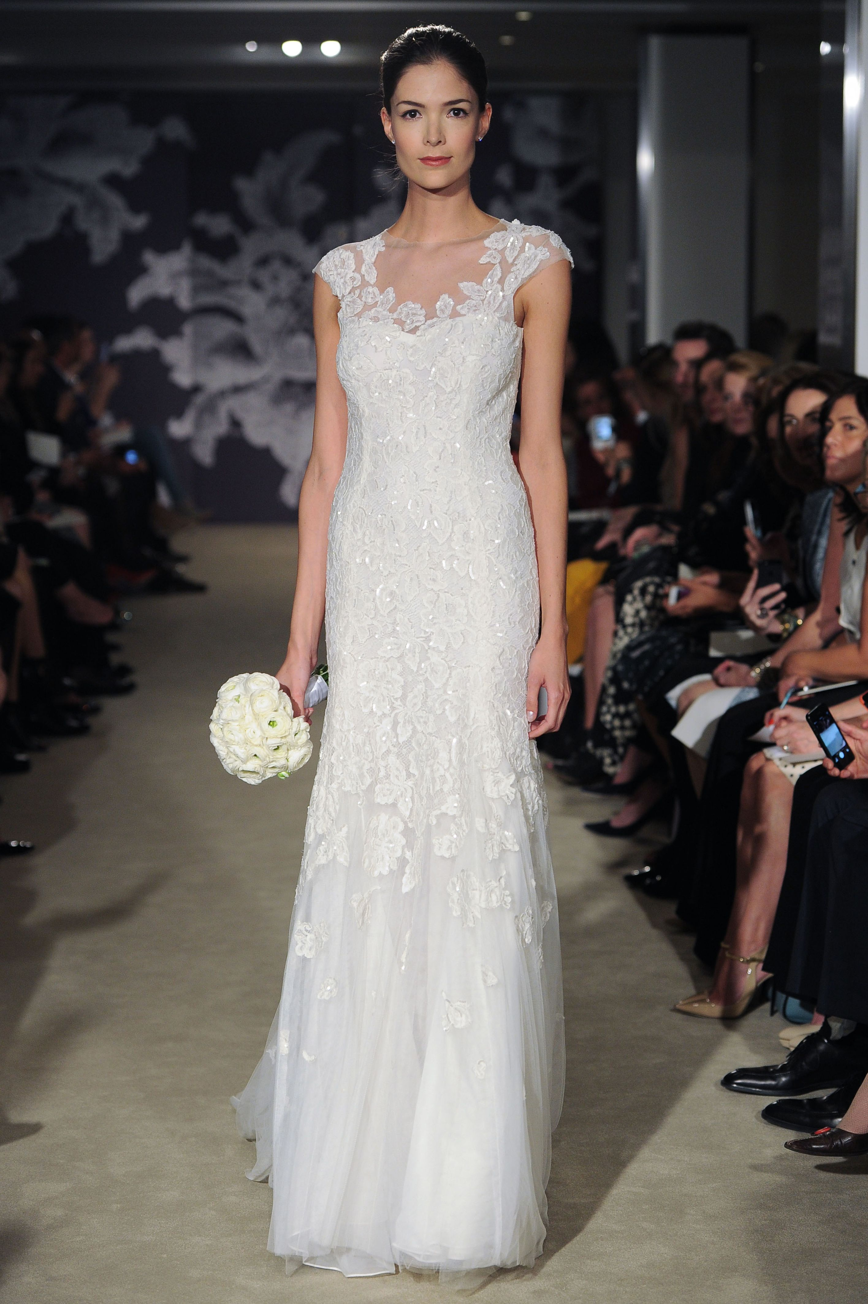 The Claire gown #CarolinaHerrera #bridal