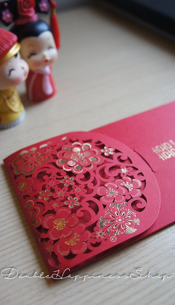 dc8f3bea DESCRIPTION == This is a beautiful and elegant red packet/envelope. ==  DIMENSIONS == Width: 8.7cm Height: 18cm == SHIPPING…