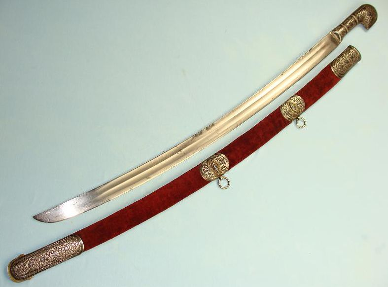 Hanwei Shashka Saber - 1881 Model