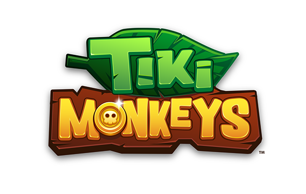 Tiki Monkeys Mobile Game on Behance Game logo design