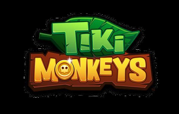 Tiki Monkeys Mobile Game on Behance Game logo design