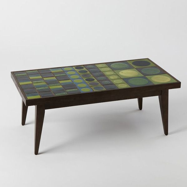 West Elm Collaborates With Lubna Chowdhary/Green Tiled