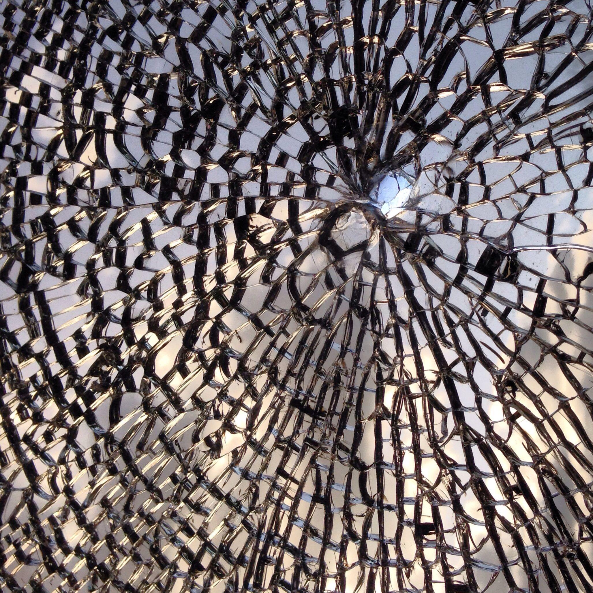 Broken Glass Textures Patterns Photo Art Tactile Texture
