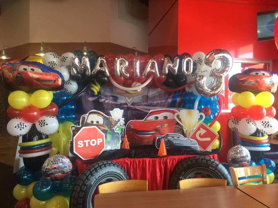 Cases Main Table Cars Birthday Parties Maine