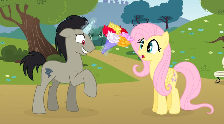 Nice to meet you by icelion87.deviantart.com on @deviantART (Discord in his chosen pony from from the Season 4 finale)