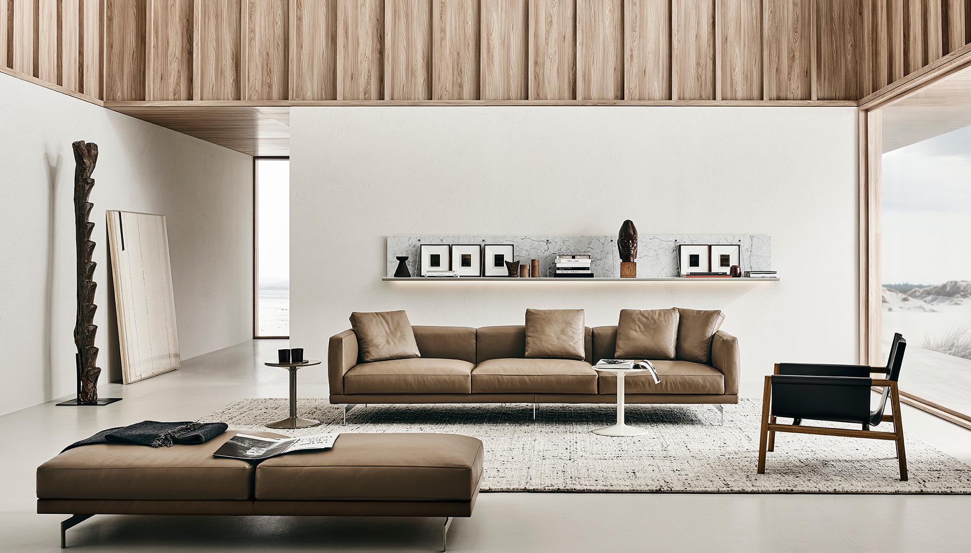 Sofa Dock B B Italia Design Of Piero Lissoni B B Italia