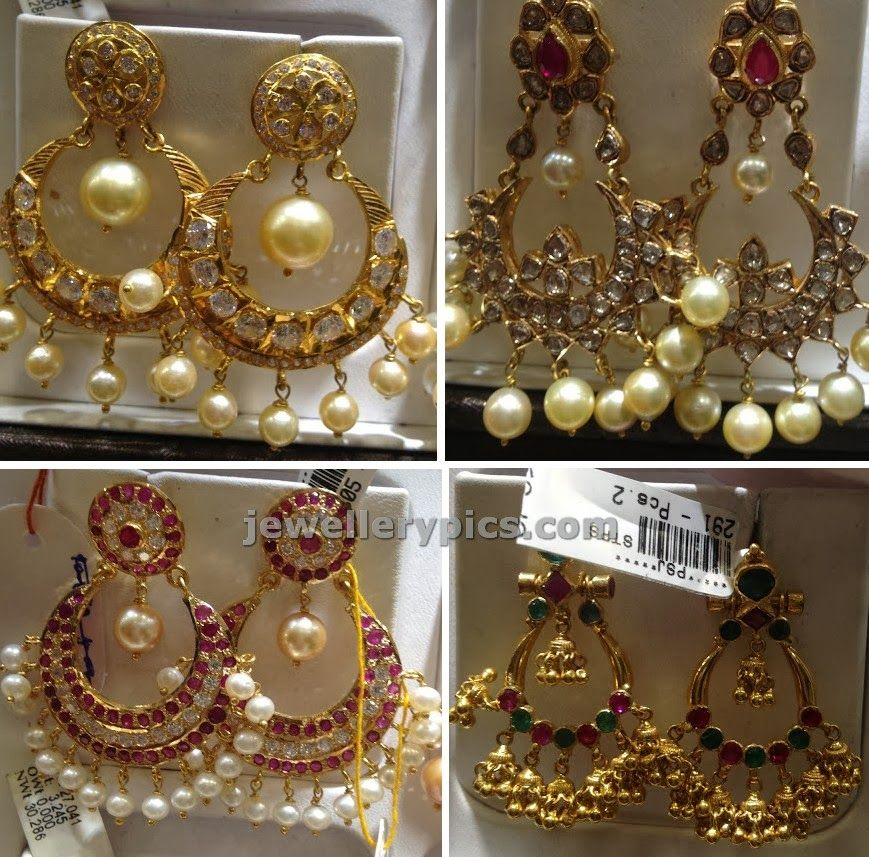SUDHAKAR GOLD WORKS: Chand bali designs new | addicted to jewelry ...
