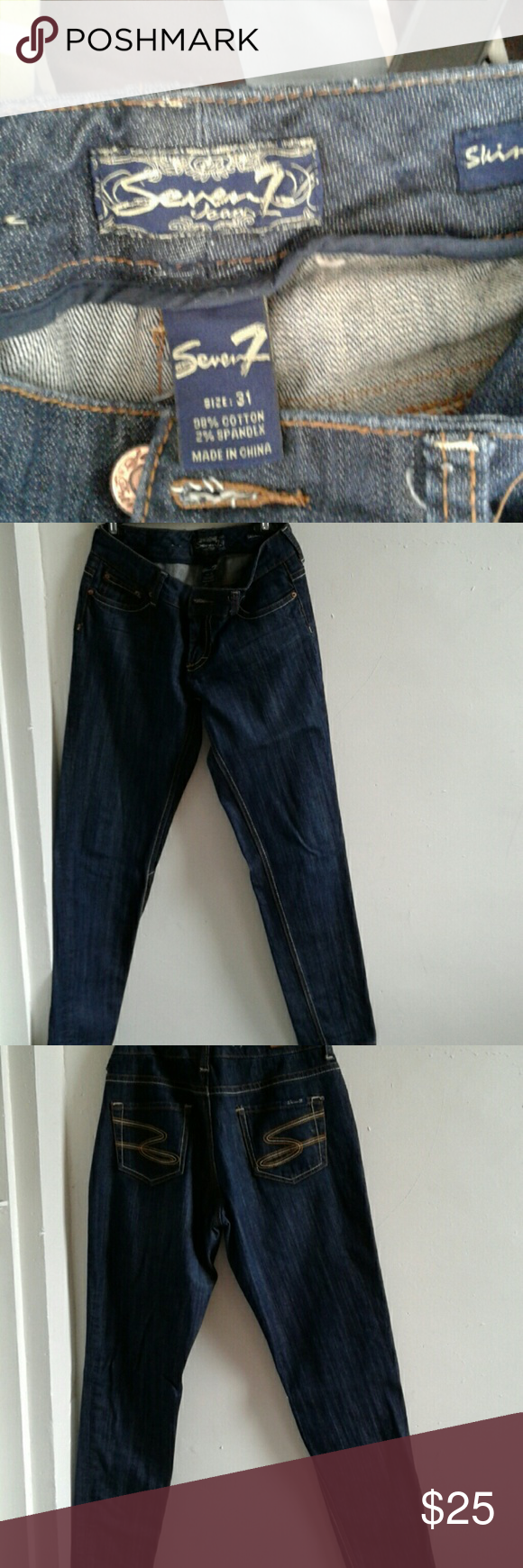 Jeans Used good condition Seven7 Jeans Skinny