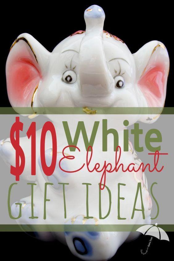 $10 White Elephant Gift Exchange Ideas -   19 white elephant gift for work ideas