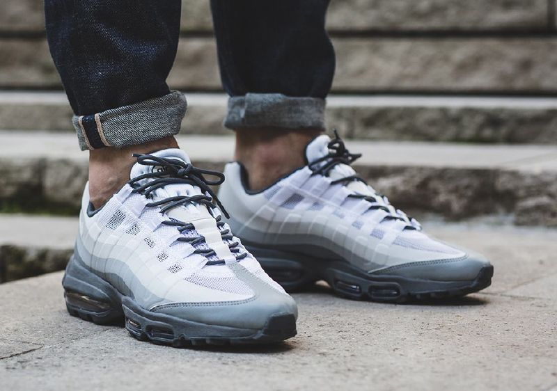 a321ab3b4c3 Nike Air Max 95 Ultra Essential Stealth White Cool Grey Men s Shoes - Landau  Store - Product Review - April 14