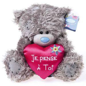 peluche me to you coeur je pense toi cadeau saint valentin