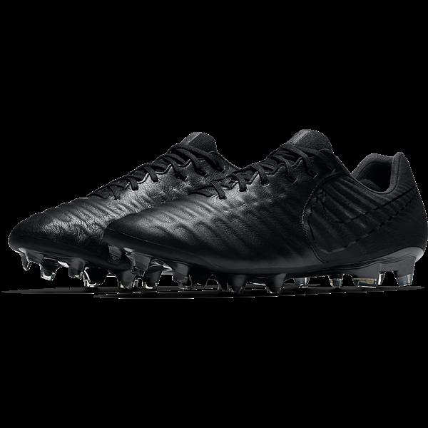 efaecc881 Nike Tiempo Legend VII FG Soccer Cleat - Black/Black/Black ...