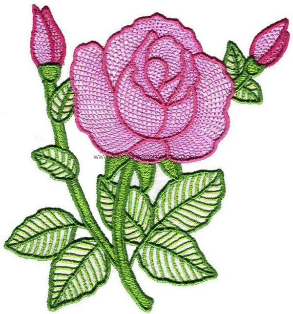 Free Flower Basket Embroidery Designs : Free hand embroidery flower designs