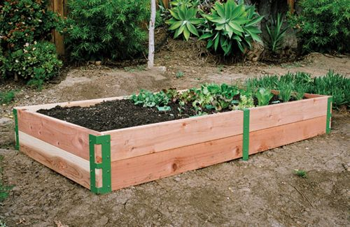 Merveilleux Scout Regalia Raised Garden Kit. Supply Your Own Wood And You Have Instant  Chic Raised Planter Beds!