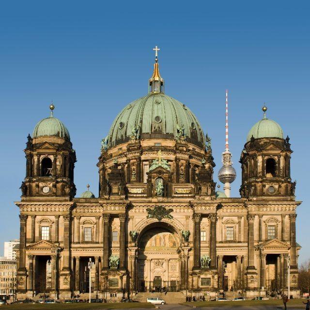 Berlin Cathedral Berlin Germany Kirchen Deutschland Architektur