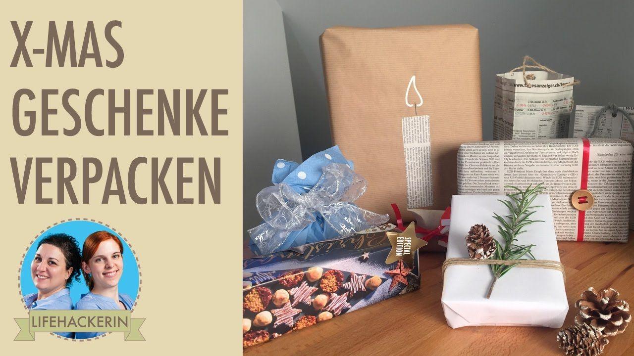 Geschenke Verpacken Ohne Geschenkpapier Lifehackerin