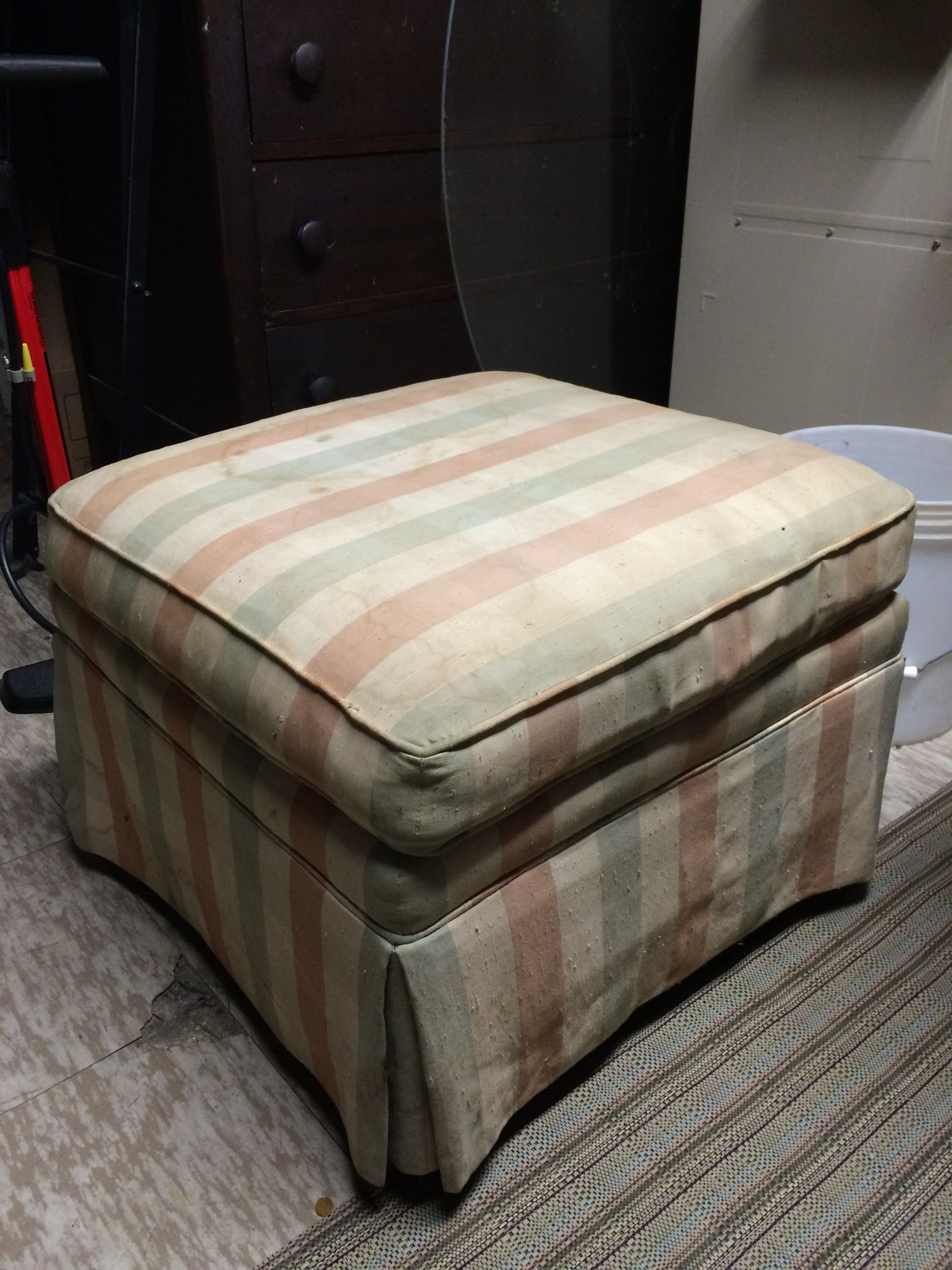 ottoman to reupholster