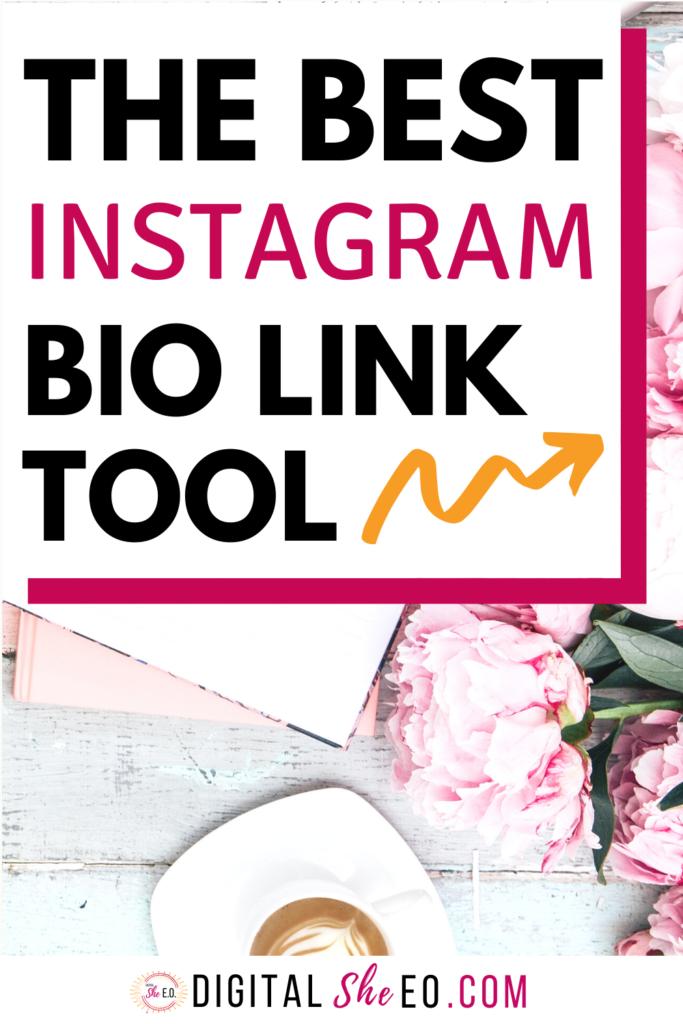 The Best Instagram Bio Link Tool Instagram Bio Instagram Marketing Tips Blog Social Media