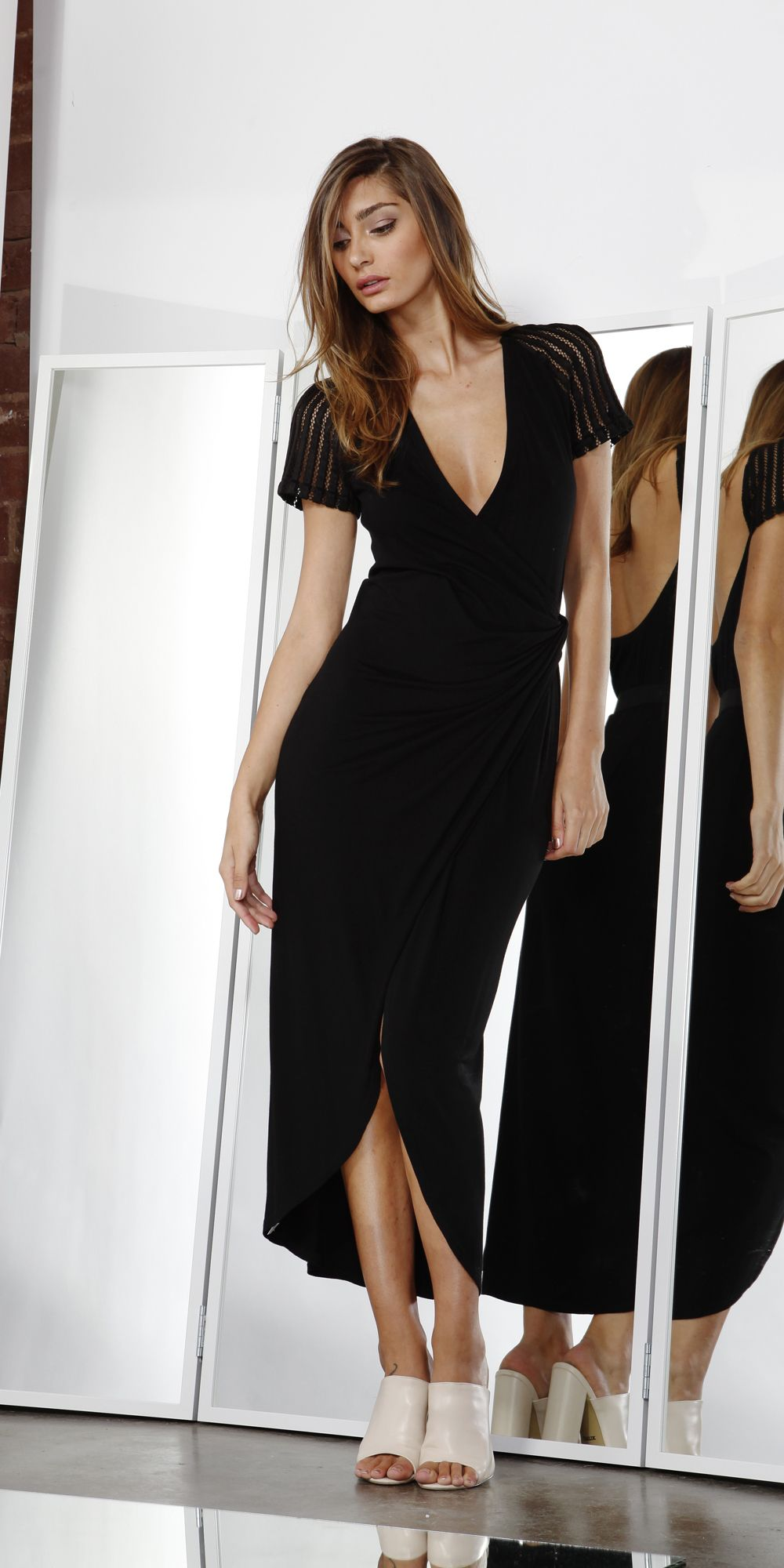 Aura wrap dress dresses u jumpsuits style love the look
