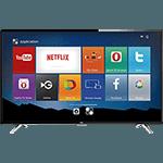 """Smart TV LED 32"""" SEMP TCL L32S4700S HD com Conversor Dgital HDMI USB 60Hz - Preta"""