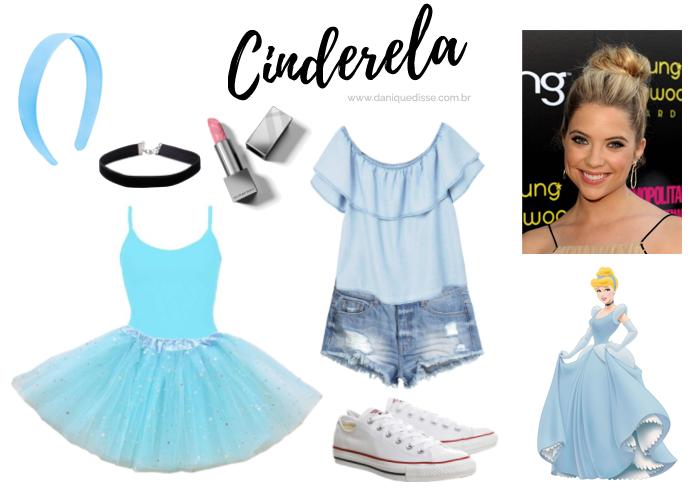 4c3dfe37f 8 fantasias fáceis para o carnaval - Cinderela