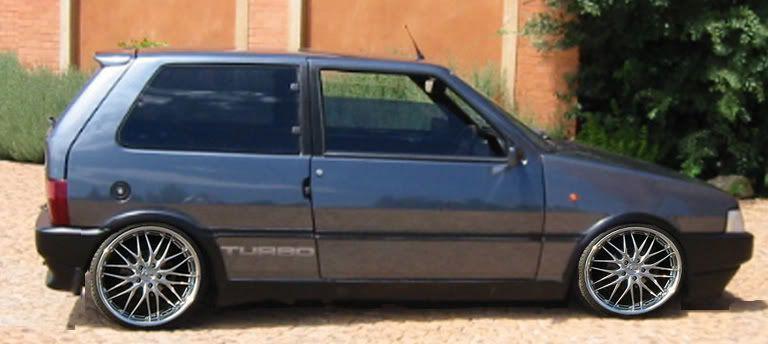 Fiat Uno Turbo Projetos De Carros Carros