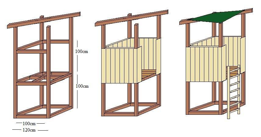 spielturm bauzeichnung fitness pinterest bauzeichnung spielturm und g rten. Black Bedroom Furniture Sets. Home Design Ideas