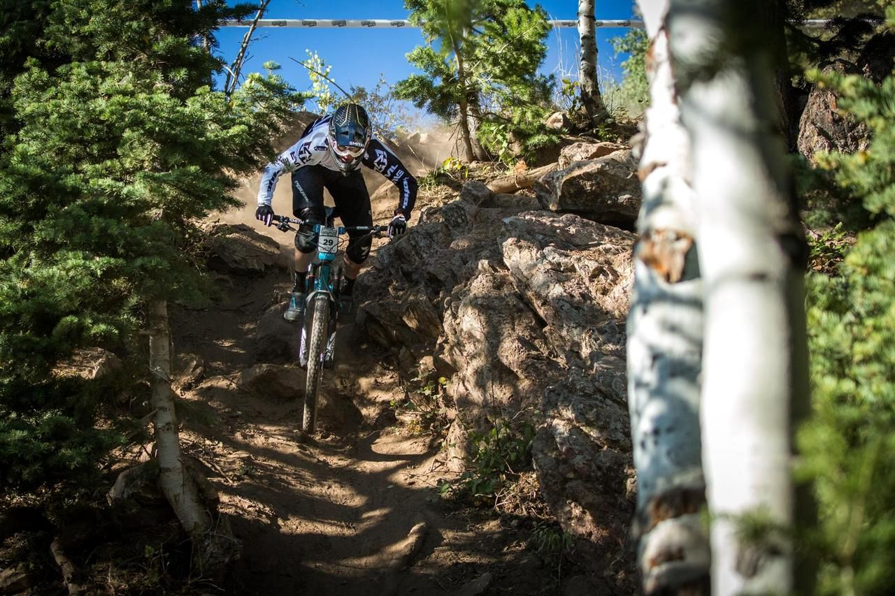 Chris Boice Drops In To The Final Round Of The 2016 Scott Enduro