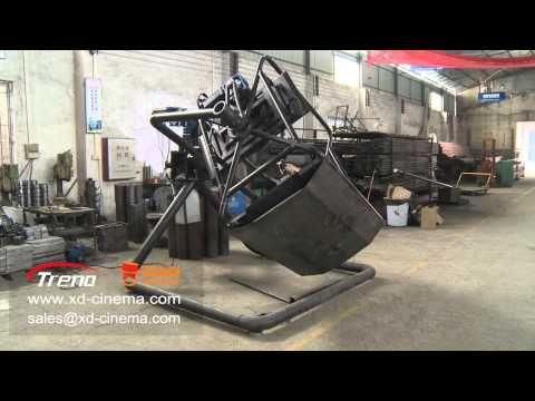 720 degree rotation flight simulator