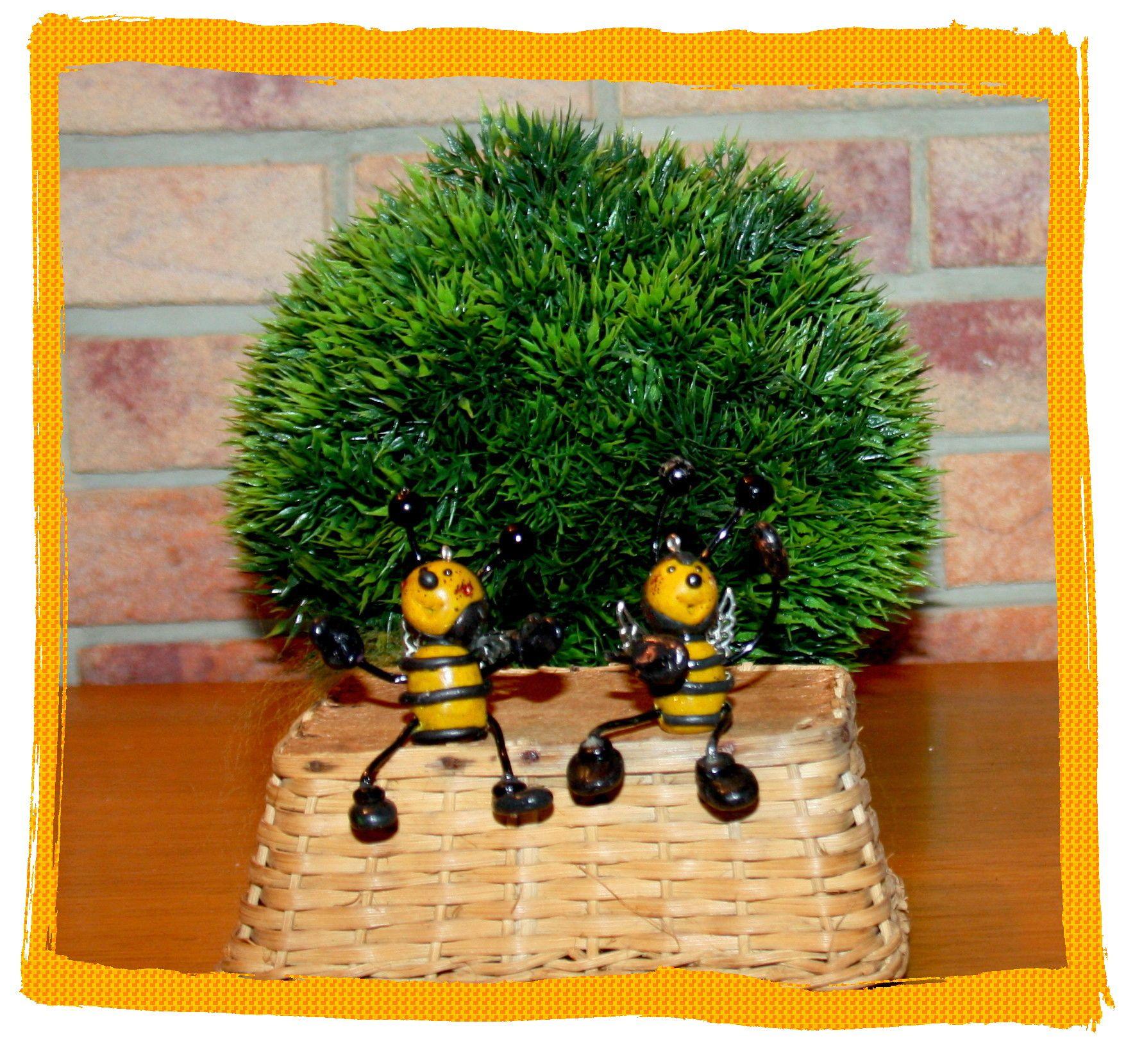 Bee Happy, Fimo, Bienen