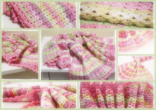 Babydecke, Baby Blanket | handarbeiten | Pinterest | Häckeln, Decken ...