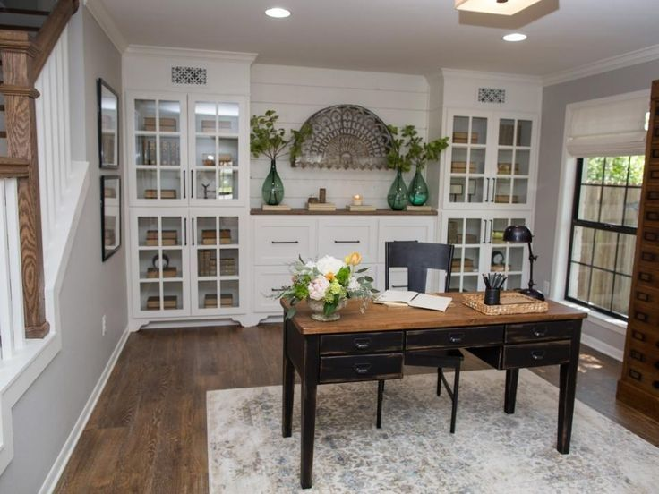 Image Result For Fixer Upper Office Photos Home Office Furniture