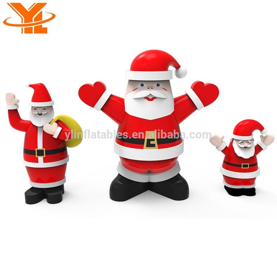 Inflatable Santa Claus Group for Christmas, High Quality Christmas ...