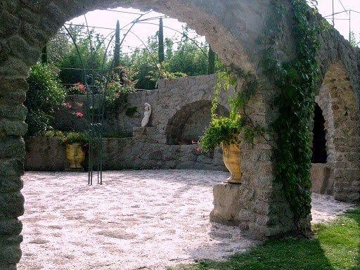 Arche En Pierre Jardins Exterieur Maisons Exterieures