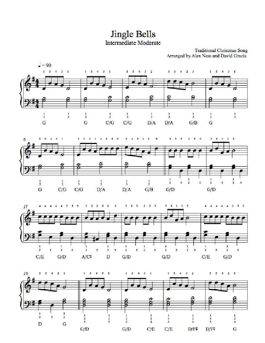 We dont talk anymore piano sheets for charlie puth and selena jingle bells by traditional piano sheet music hexwebz Images