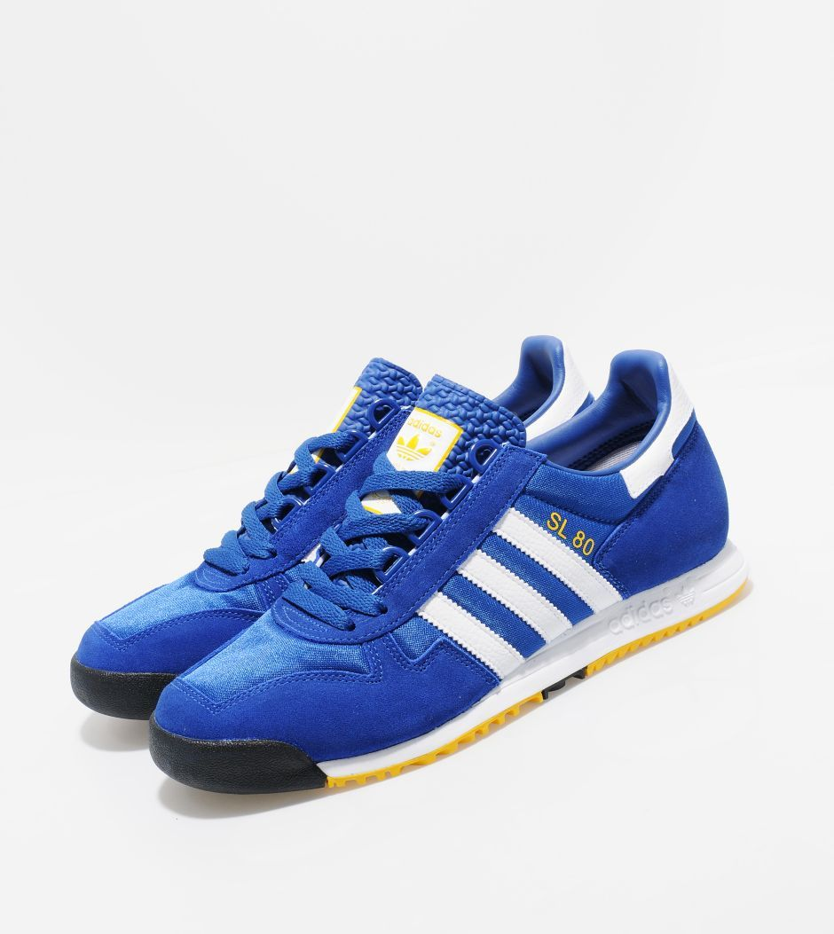 info for 68b51 a1edb Adidas Originals SL 80 blue white