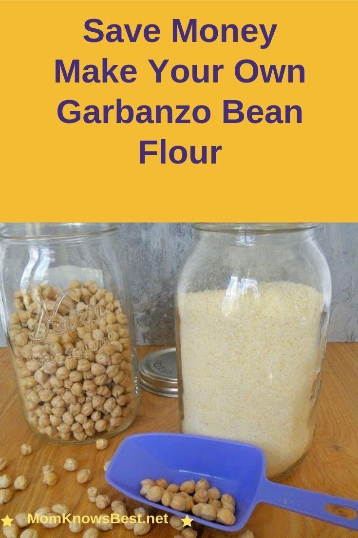 How To Make Homemade Garbanzo Bean Flour Looking for a gluten free flour? Save money and make your own garbanzo bean flour.