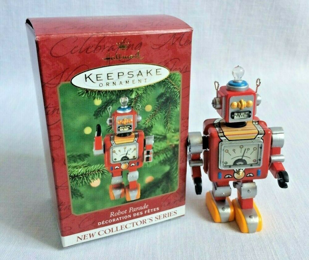 Hallmark Robot Parade Keepsake Christmas Ornament No 1 in ...