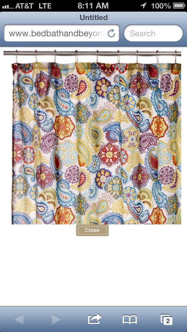 Shower Curtain From Bed Bath And Beyond Hooks Included