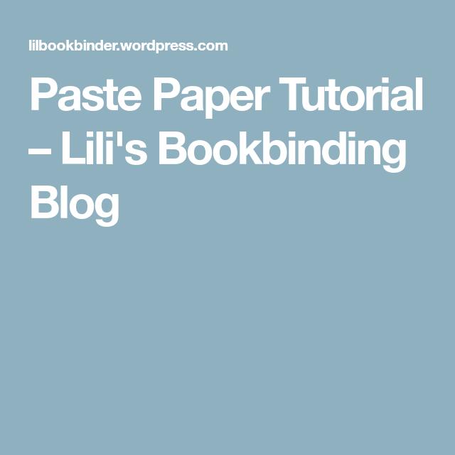Book Binding, Paper, Book Making