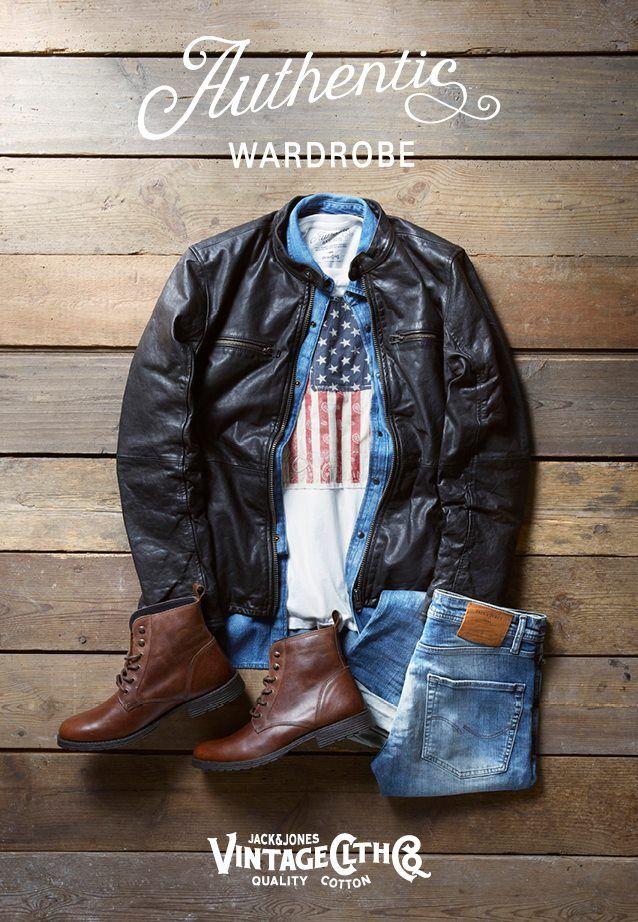 size 40 6c511 7008f Authentic Wardrobe' from JACK & JONES VINTAGE CLOTHING ...